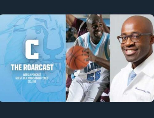 Columbia Athletics Podcast Interview With Dr. Nwachukwu